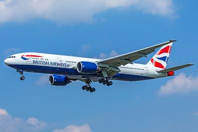 British Airways Boeing 777-236(ER) G-YMMN 5-8-18