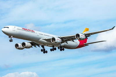 Iberia Airbus A340-642 EC-JCZ 9-9-18