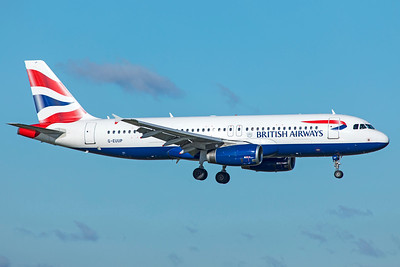 British Airways Airbus A320-232 G-EUUP 10-29-18