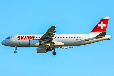 Swiss Airbus A320-214 HB-IJQ 5-7-18