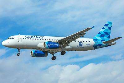 Cobalt Air Airbus A320-232 5B-DDC 9-9-18