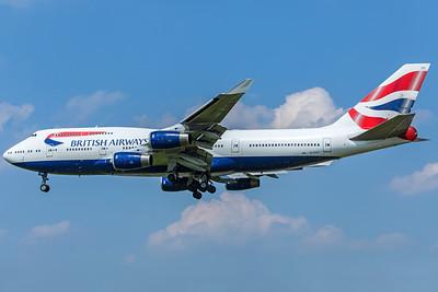 British Airways Boeing 747-436 G-CIVT 5-8-18