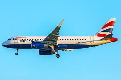 British Airways Airbus A320-232 G-EUYO 5-7-18