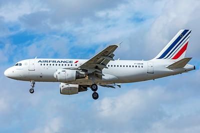 Air France Airbus A319-111 F-GRXM 9-9-18