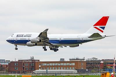 British Airways Boeing 747-436 G-CIVB 3-21-19