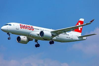Swiss Bombardier BD-500-1A11 CSeries CS300 HB-JCD 5-8-18