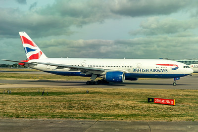 British Airways Boeing 777-236(ER) G-YMMG 9-10-18