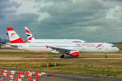 Austrian Airlines Airbus A321-111 OE-LBC 9-10-18