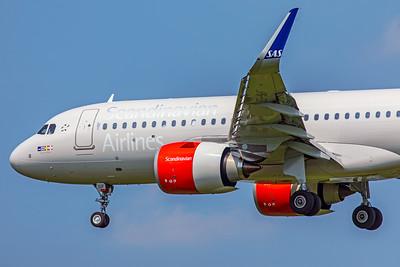 SAS Scandinavian Airlines Ireland Airbus A320-251N EI-SIF 5-8-18