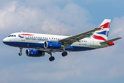 British Airways Airbus A319-131 G-EUOE 5-8-18