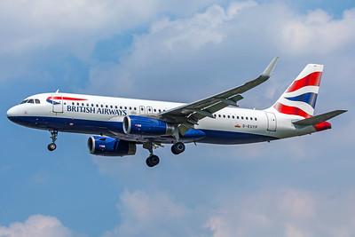 British Airways Airbus A320-232 G-EUYP 5-8-18
