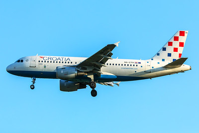 Croatia Airlines Airbus A319-112 9A-CTH 5-7-18