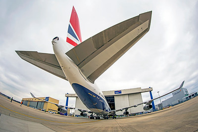 British Airways Boeing 747-436 G-CIVB 3-21-19 9