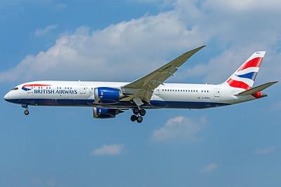 British Airways Boeing 787-9 Dreamliner G-ZBKH 5-8-18
