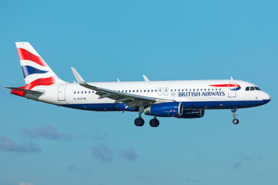 British Airways Airbus A320-232 G-EUYW 10-29-18