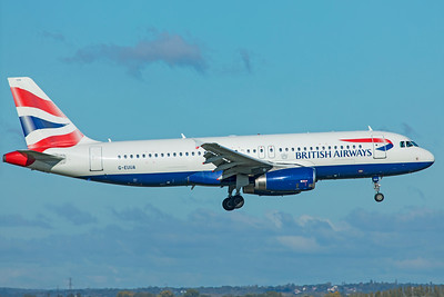 British Airways Airbus A320-232 G-EUUA 10-29-18