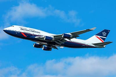 British Airways Boeing 747-436 G-BNLY 3-25-19