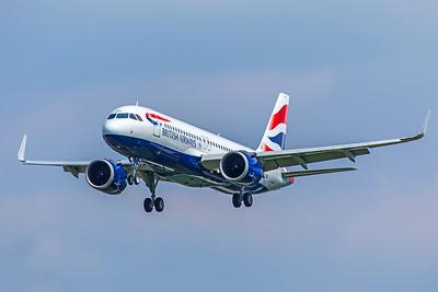 British Airways Airbus A320-251N G-TTNB 5-8-18