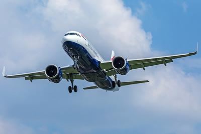 British Airways Airbus A320-251N G-TTNA 5-8-18