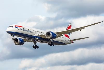 British Airways Boeing 787-9 Dreamliner G-ZBKA 9-9-18