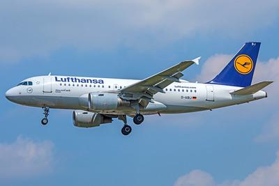 Lufthansa Airbus A319-112 D-AIBJ 5-8-18