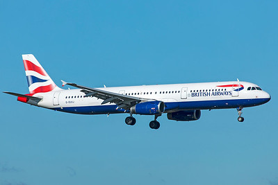 British Airways Airbus A321-231 G-EUXJ 10-29-18