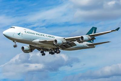 Cathay Pacific Boeing 747-467F(ER) B-LIA 9-9-18