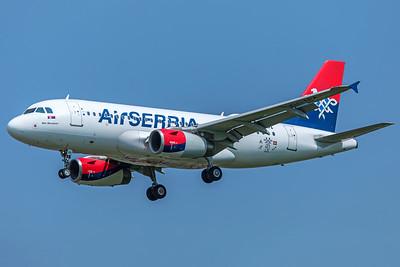 Air Serbia Airbus A319-132 YU-APA 5-8-18