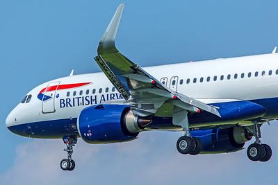 British Airways Airbus A320-251N G-TTNB 5-8-18 2