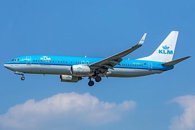 KLM Royal Dutch Airlines Boeing 737-8K2 PH-BXV 5-8-18