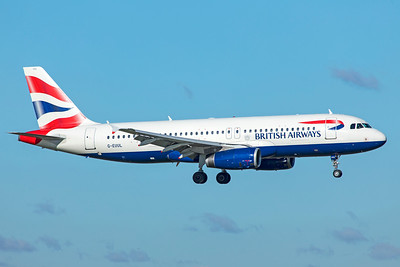 British Airways Airbus A320-232 G-EUUL 10-29-18