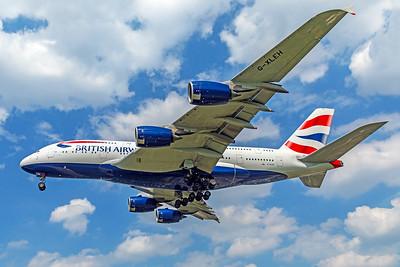 British Airways Airbus A380-841 G-XLEH 5-8-18