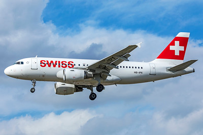 Swiss Airbus A319-112 HB-IPX 9-9-18