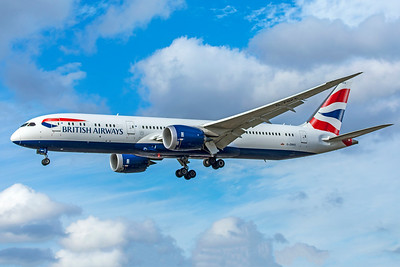 British Airways Boeing 787-9 Dreamliner G-ZBKE 9-9-18