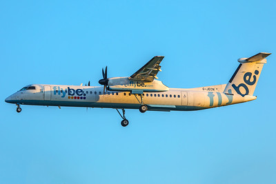 Flybe Bombardier DHC-8-402Q G-JECN 5-7-18