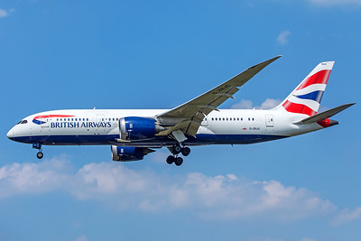 British Airways Boeing 787-8 Dreamliner G-ZBJC 5-8-18