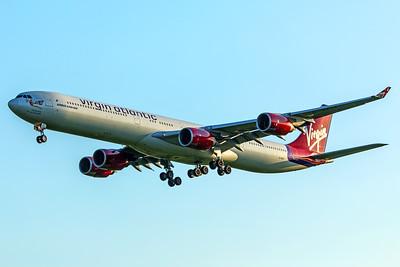 Virgin Atlantic Airways Airbus A340-642 G-VFIT 5-7-18