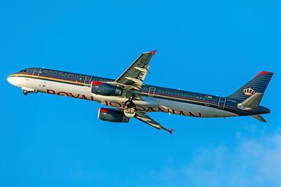 Royal Jordanian Airbus A321-231 JY-AYT 3-25-19