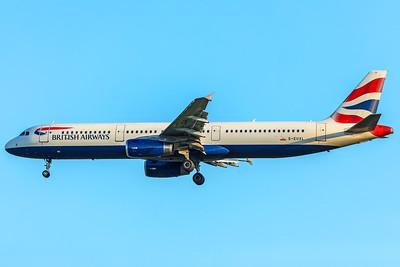 British Airways Airbus A321-231 G-EUXL 5-7-18