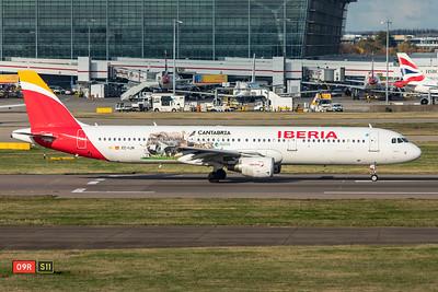 Iberia Airbus A321-212 EC-IJN 11-10-19