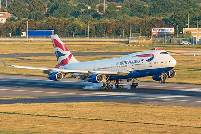 British Airways Boeing 747-436 G-CIVV 8-25-19