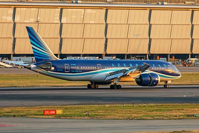 Azerbaijan Airlines Boeing 787-8 Dreamliner VP-BBS 7-12-19
