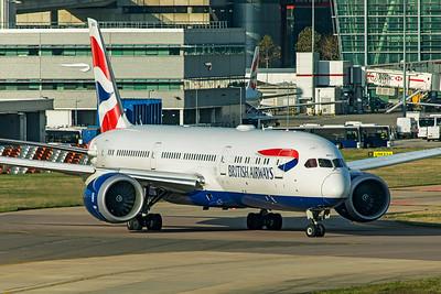 British Airways Boeing 787-9 Dreamliner G-ZBKG 11-10-19