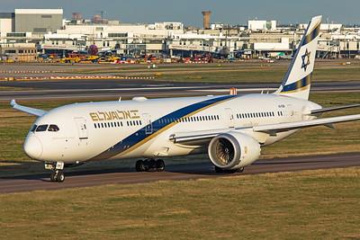El Al Airlines Boeing 787-9 Dreamliner 4X-EDM 11-10-19