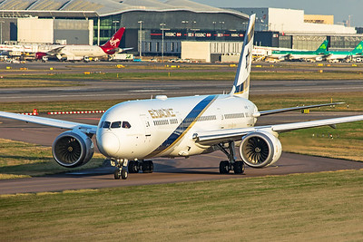 El Al Airlines Boeing 787-9 Dreamliner 4X-EDM 11-10-19 2