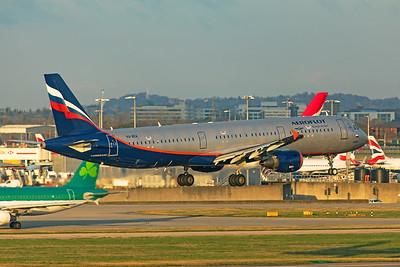 Aeroflot Airbus A321-211 VQ-BEA 11-10-19