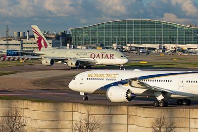 El Al Airlines Boeing 787-9 Dreamliner 4X-EDM 11-10-19 4