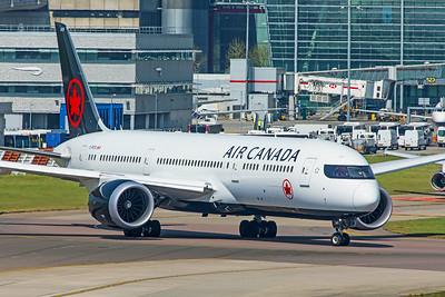 Air Canada Boeing 787-9 Dreamliner C-FRTG 4-21-19