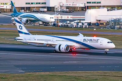 El Al Israel Airlines Boeing 787-9 Dreamliner 4X-EDI 8-25-19