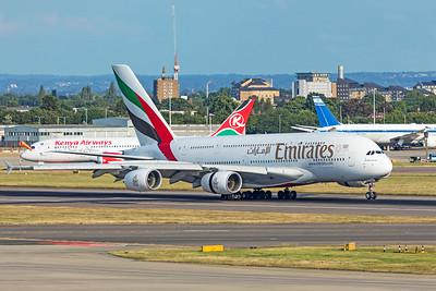 Emirates Airbus A380-861 A6-EDF 7-12-19